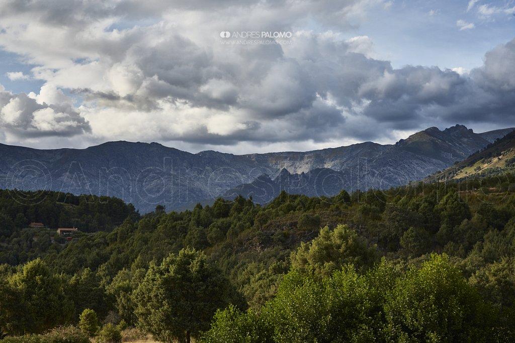 Sierra de Gredos, cara sur.